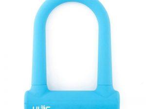 u-lukko vaalean sininen